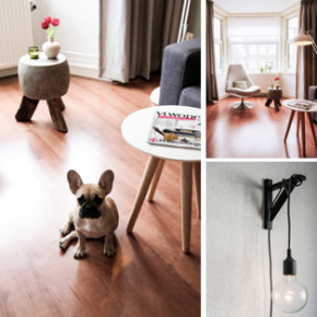 Interieurstyling appartement in Amsterdam