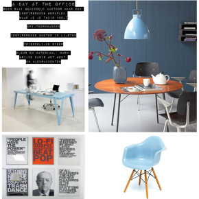 KLM Royal Dutch Airlines, moodboards voor interieur