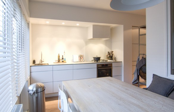 Verbouwing bovenwoning amsterdam for Interieurontwerp amsterdam