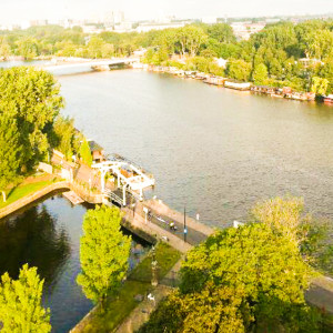 Work in progress: Royaal Appartement met uitzicht op de Amstel