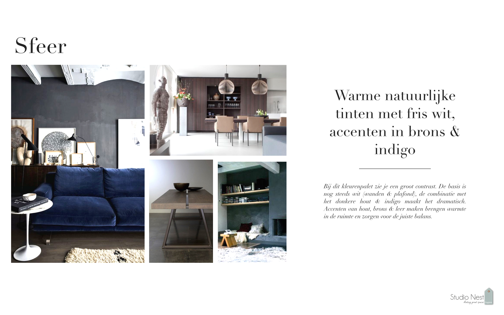 kleur materiaal advies royaal appartement project At Amstel_Studio Nest .003